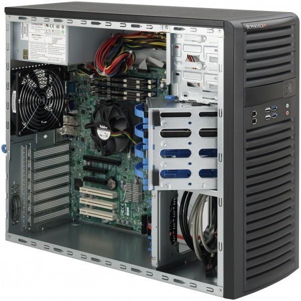 Сервер 1С на 30 пользователей: корпус