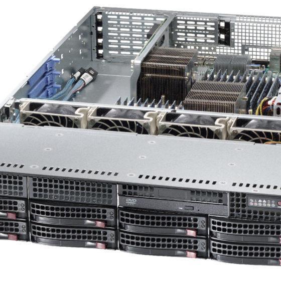 Корпус для сервера 1С на 50 пользователей