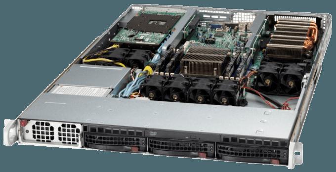 Открытый сервер