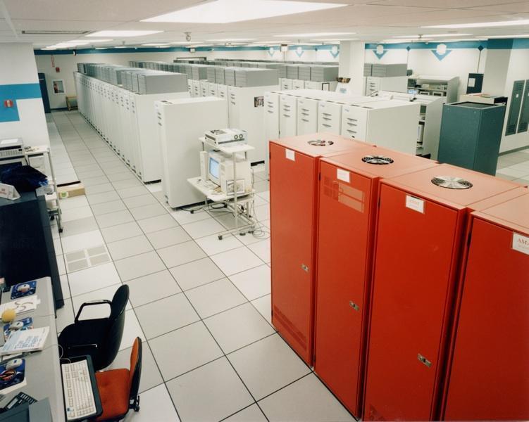 Старенький суперкомптьютер ASCI Red5