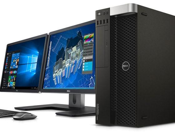 Рабочая станция от компании Dell