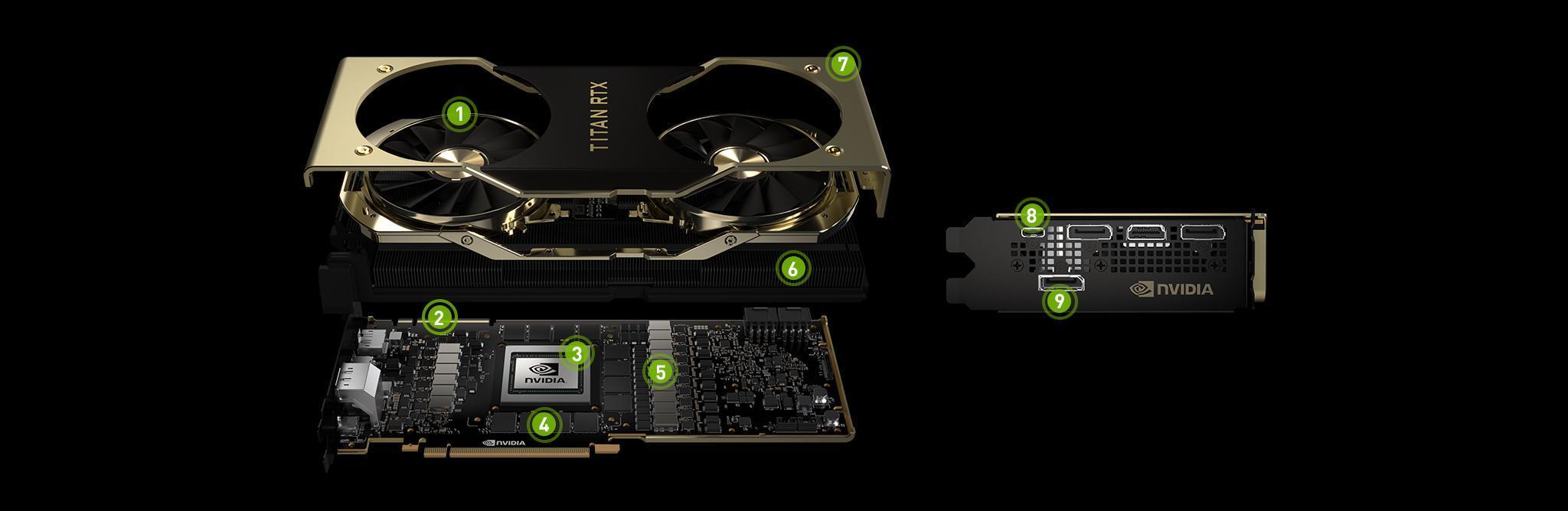 Схема Titan RTX