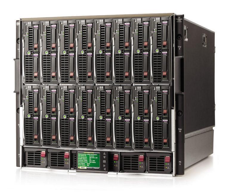 что такое блэйд-сервер?