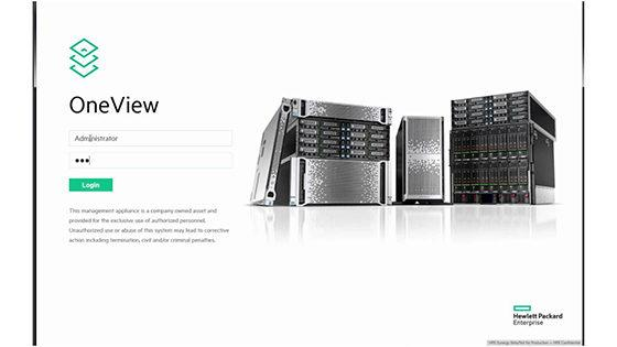 HPE OneView